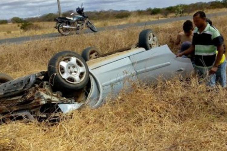 Idosas, mãe e filha morrem em acidente na BA-573 em Guanambi