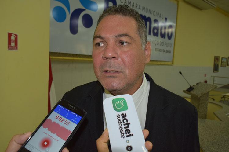 Presidente da Câmara de Vereadores de Brumado sinaliza possível apoio à reeleição de Rui Costa