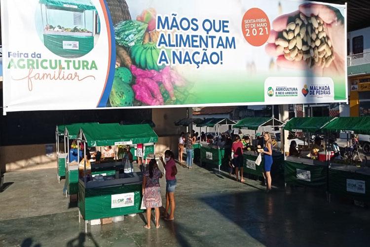 Feira da Agricultura Familiar marca novo momento para economia rural em Malhada de Pedras