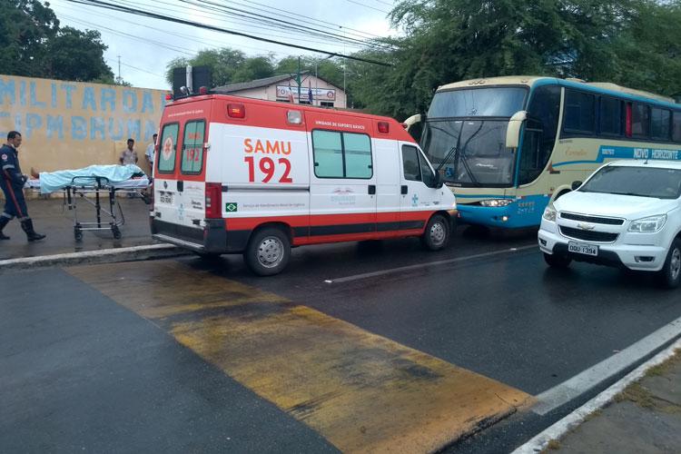Idoso recém operado do coração morre dentro de ônibus em Brumado