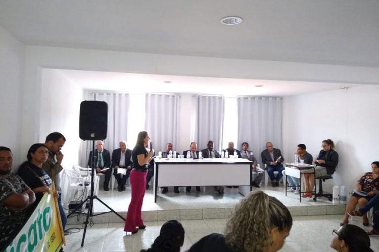 Sindicalista denuncia que prefeito de Ibicoara está excluindo direitos dos profissionais da educação