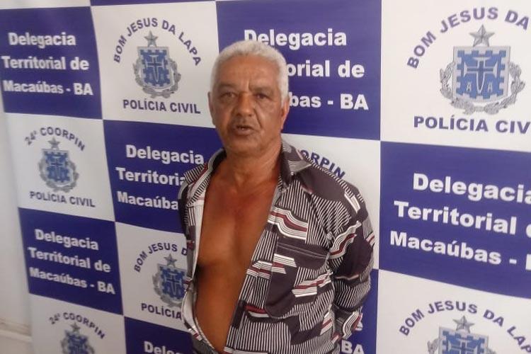 Homem que estuprava a própria filha há 15 anos é preso em Macaúbas