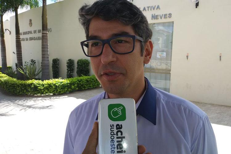 'Abrimos mão da minha pré-candidatura para apoiar Márcio', revela Dudu Vasconcelos