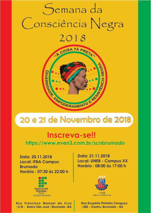 Brumado: Ifba e Uneb promovem evento especial em celebração à Semana da Consciência Negra
