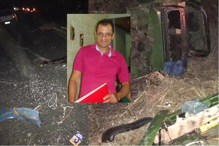 Professor morre em acidente automobilístico causando comoção em Palmas de Monte Alto