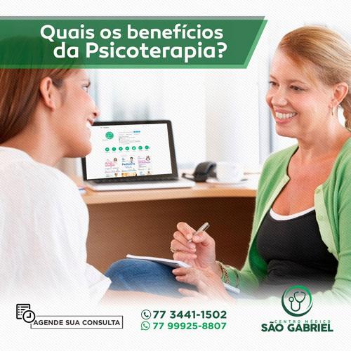 Centro Médico São Gabriel: Quais os benefícios da Psicoterapia?