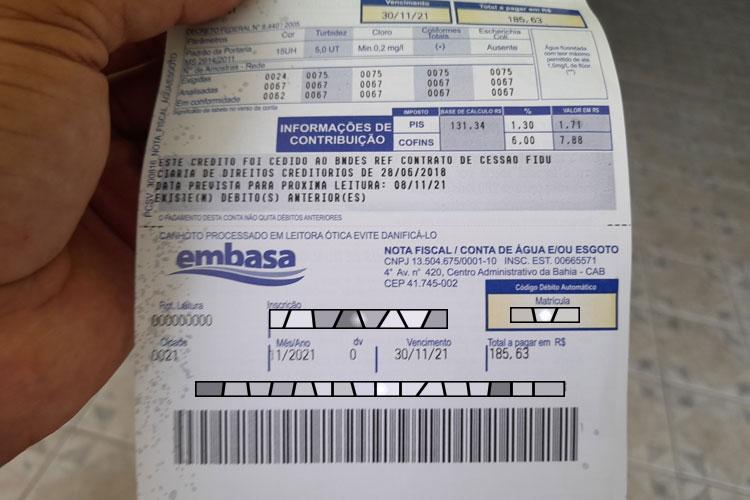 Embasa emite fatura antecipada e irrita consumidores em Brumado