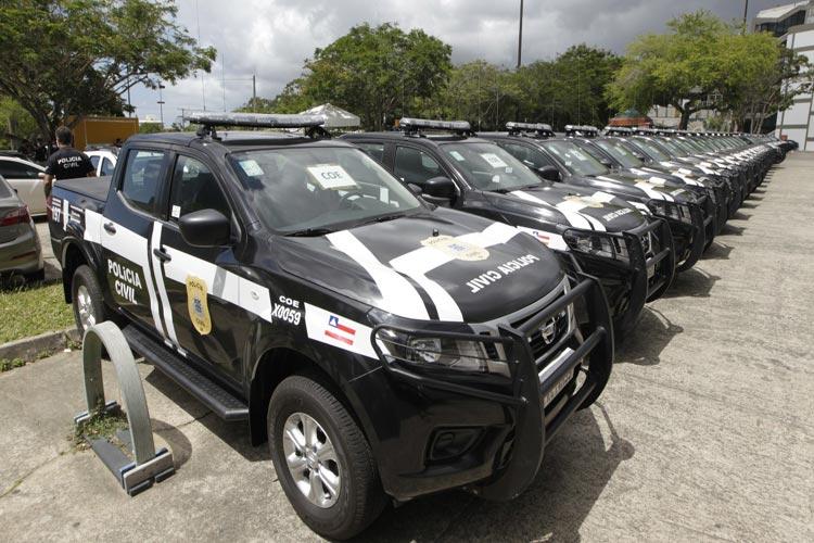 Polícia Civil de Brumado e mais 38 municípios baianos recebem novas viaturas