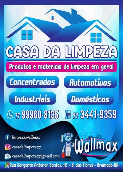 Casa da Limpeza: Produtos e materiais em geral na cidade de Brumado