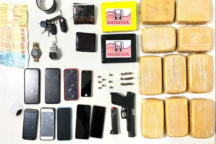 Três pessoas são presas em casa usada como laboratório de drogas no norte da Bahia