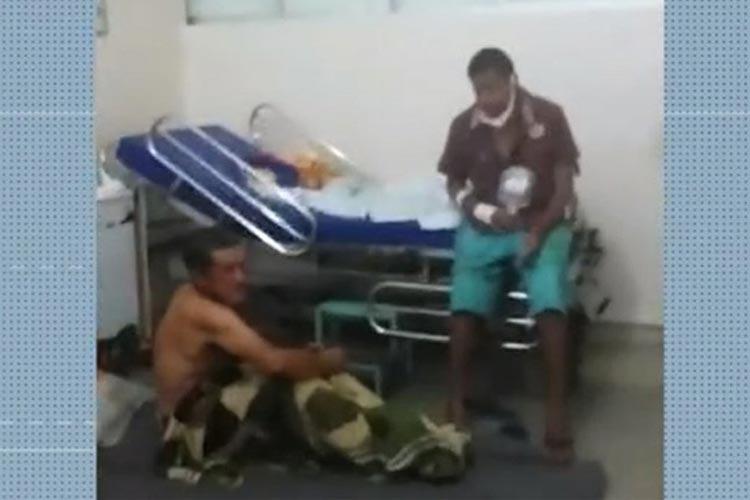 Acompanhante de paciente denuncia banheiros sujos e pessoas no chão do Hospital Geral de Vitória da Conquista