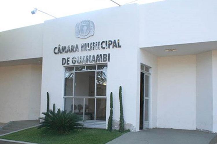 Câmara Municipal de Guanambi cria mais duas vagas de vereadores