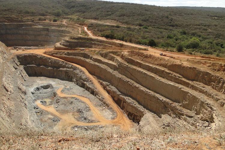 Caetité é destaque na produção mineral no primeiro semestre de 2021