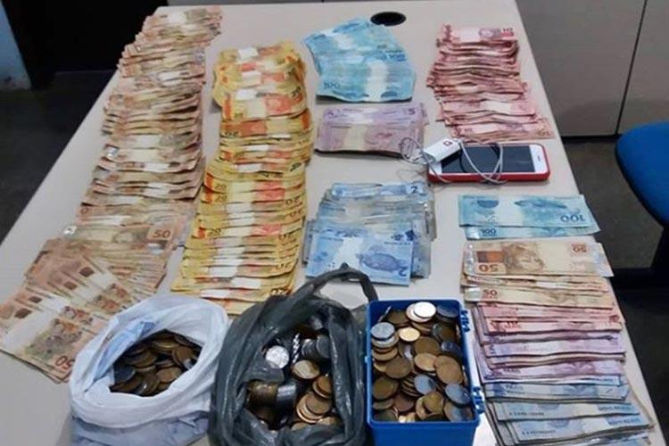 Pindaí: PM prende acusados que roubaram mais de R$ 20 mil de comércio na zona rural