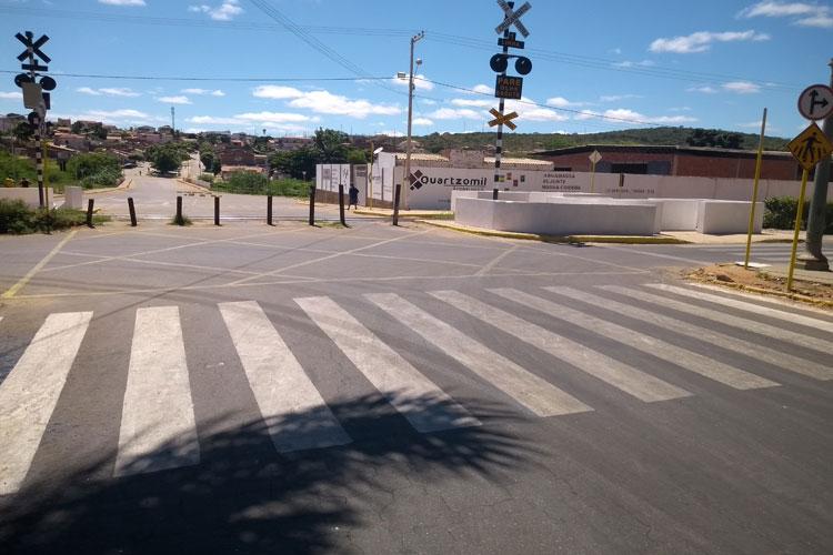 Brumado: FCA deve liberar passagem nível entre São Félix e Centro esta semana