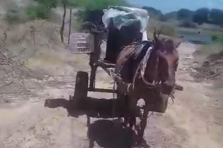 Brumado: Abastecimento com água na carroça a R$ 5 e obra gerando impacto ambiental em Itaquaraí