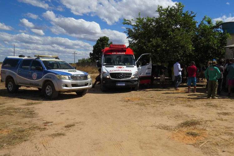 Homem morre após tentar separar briga de casal e ser esfaqueado e queimado no oeste da Bahia