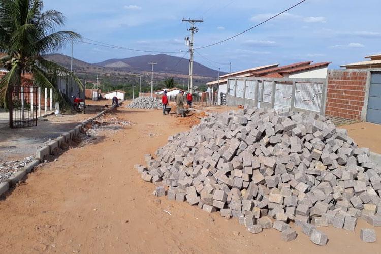 Brumado: Obras de pavimentação serão realizadas na Lagoa Funda
