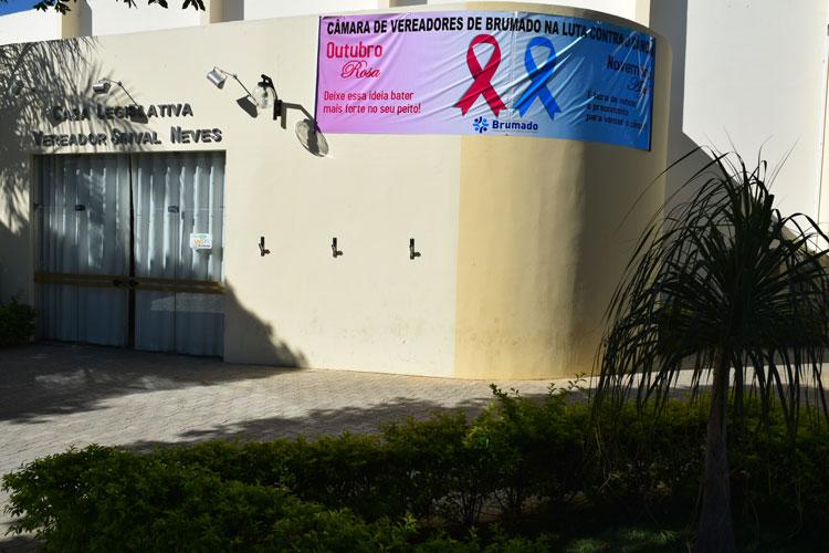 Brumado: Câmara reforça apoio à campanha preventiva contra o câncer de mama e de próstata