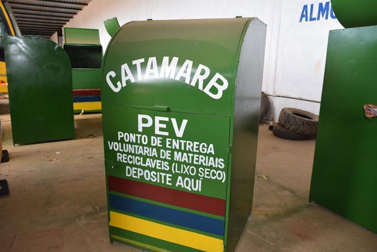 Brumado: Secretaria de Meio Ambiente desenvolve projeto de recolhimento e destinação de resíduos sólidos
