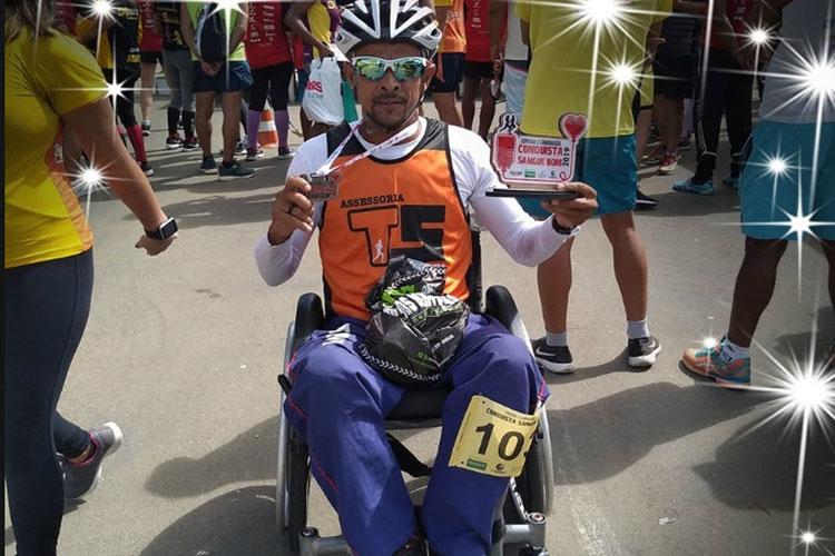 Paratleta morre atropelado por carro durante competição em Guanambi