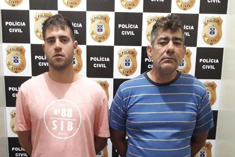 Vitória da Conquista: Pai e filho são presos suspeitos de participação no tráfico de drogas