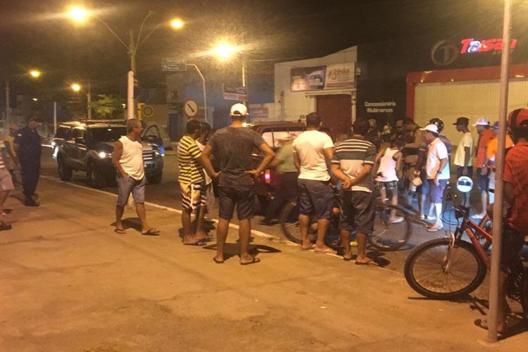 Polícia prende indivíduo que havia furtado veículo no centro de Brumado