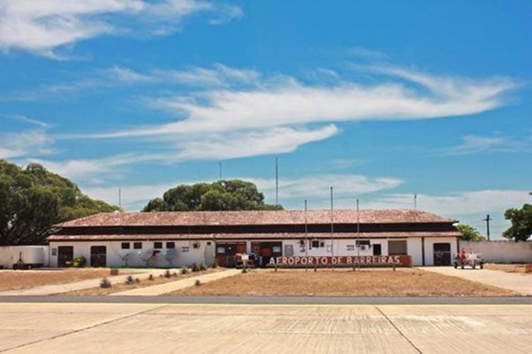 Barreiras: Aeroporto será ampliado e reformado