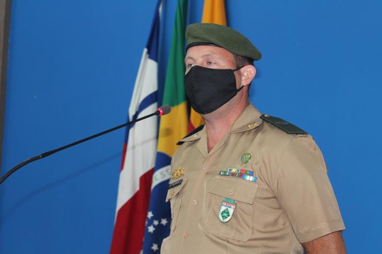 Brumado: Positivado para a Covid-19, Subtenente Pelissari assegura medidas protetivas no TG 06/024