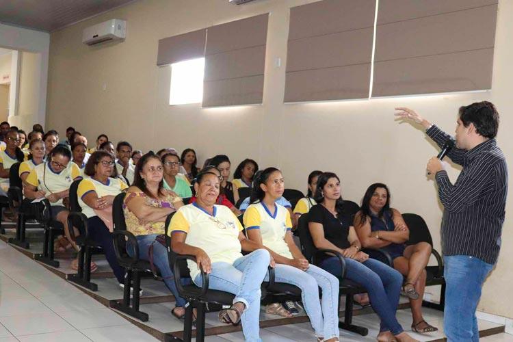 Caculé: Secretaria de Saúde promove palestra para agentes comunitários de saúde e de endemias