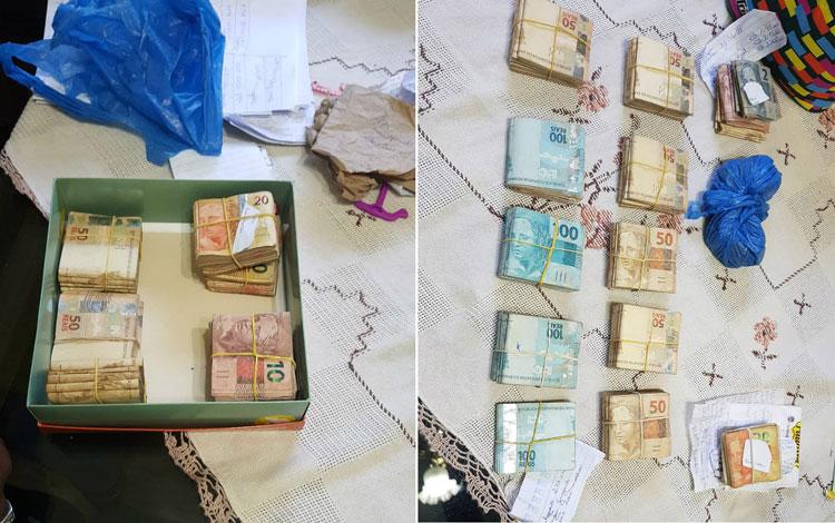 Polícia acha R$ 107 mil enterrados no quintal de ex-vereador
