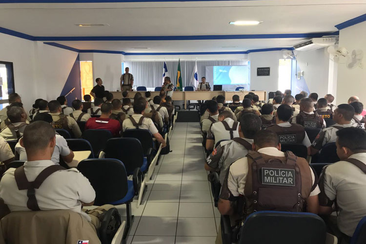 34ª CIPM promove Parada Militar e palestras ao efetivo da unidade em Brumado