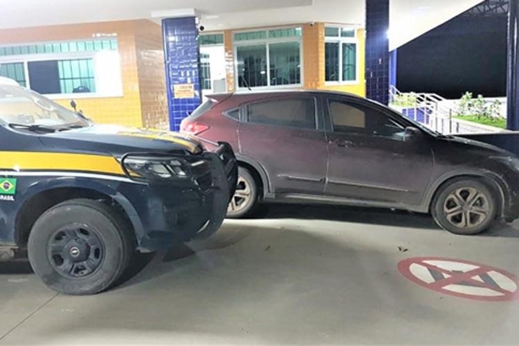 Vitória da Conquista: Empresário é flagrado na BR-116 com veículo de luxo roubado
