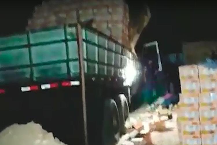 Brumadenses são presos em Goiás e Guarda Civil recupera carga avaliada em R$ 180 mil