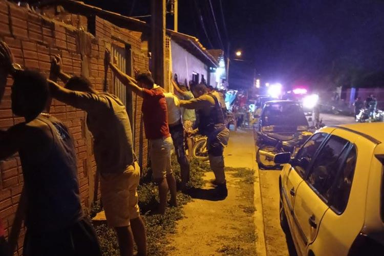 Caetité: PM realiza operação em distrito rural para coibir eventos de perturbação do sossego público
