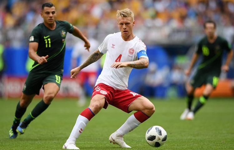 Austrália busca empate com a Dinamarca na Copa do Mundo 2018
