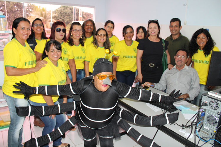 Brumado: Vereadora Ilka Abreu dá apoio e marca presença na I Feira de Saúde da UBS Liziane Santos