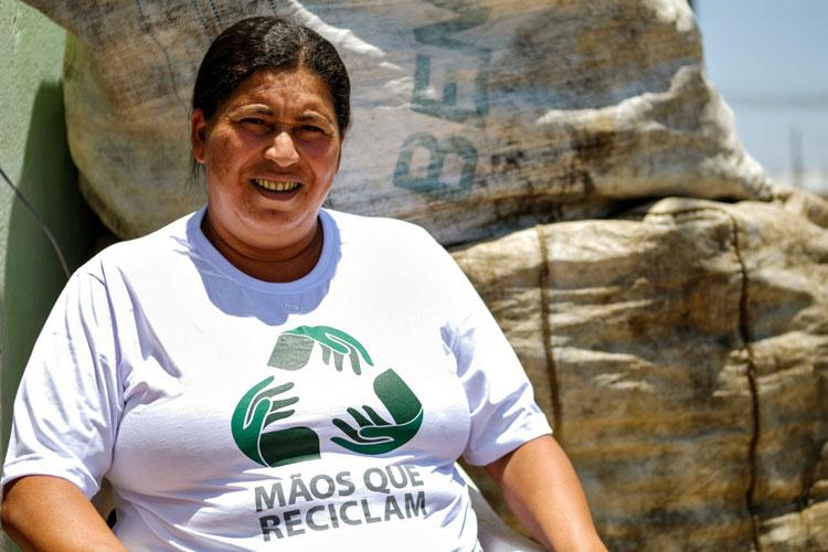 Catadores de Conquista contam com apoio de Defensores Públicos no programa 'Mãos que Reciclam'