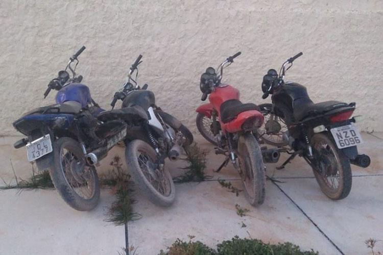 Ituaçu: Polícia Civil recupera motocicletas com restrição de roubo