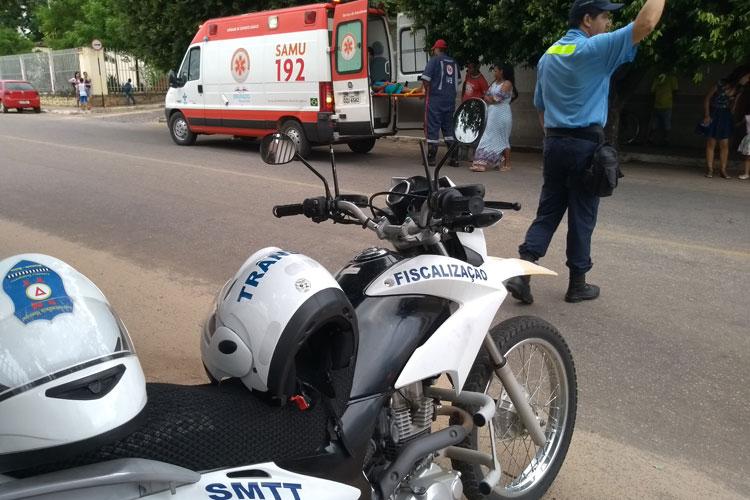 Dois acidentes foram registrados na manhã desta sexta-feira (16) em Brumado