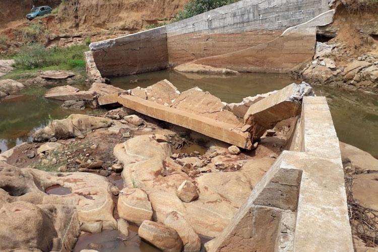 Brumado: Comunidade do Barreiro Branco cobra conserto de barragem rompida no final de 2018