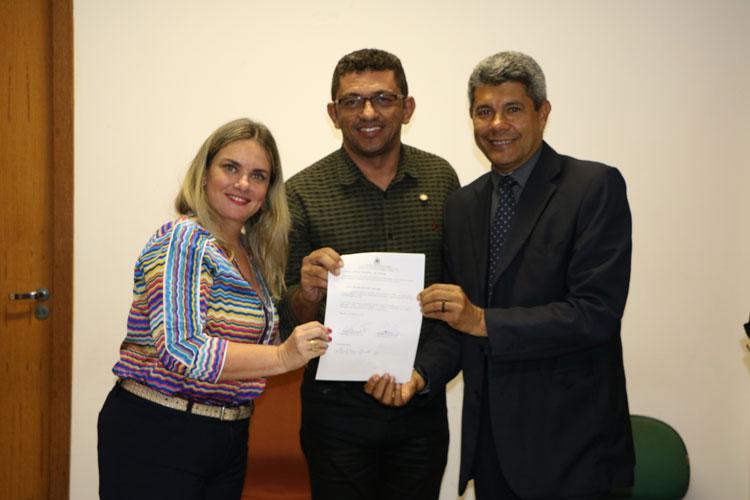 Iuiu e Secretaria de Desenvolvimento Rural celebram convênio para regularizar imóveis do município