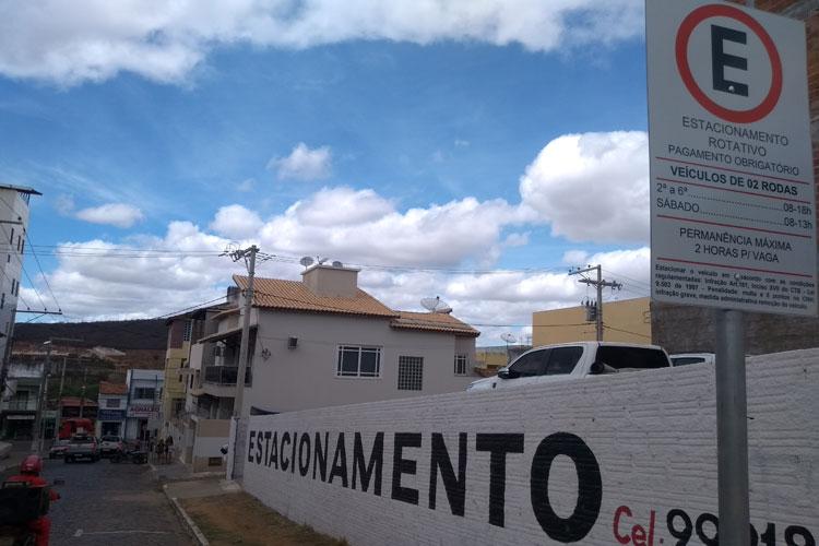 Brumado: Área azul abre novas oportunidades para estacionamentos privados