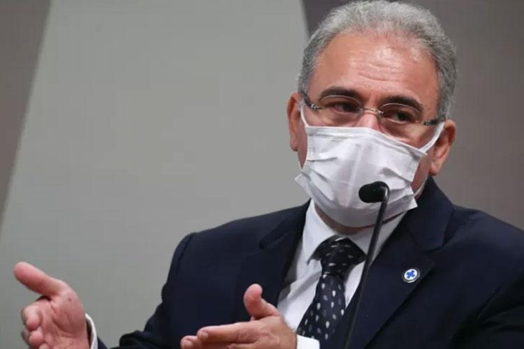 Marcelo Queiroga defende aulas presenciais com professores sem 2ª dose de vacina
