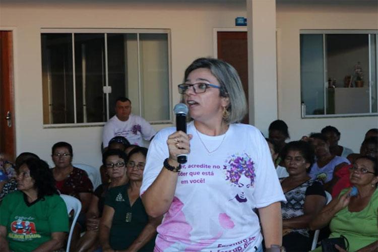 Delegada Ellen Lages fala sobre ciclo de palestra em defesa dos direitos das mulheres na região de Brumado