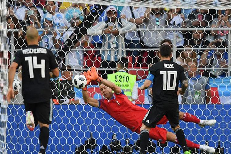 Copa 2018: Messi perde pênalti e Argentina empata com a Islândia
