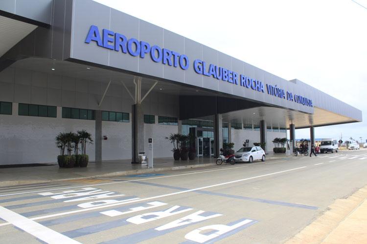 Coronavírus: Companhias suspendem voos no aeroporto de Vitória da Conquista por dois meses