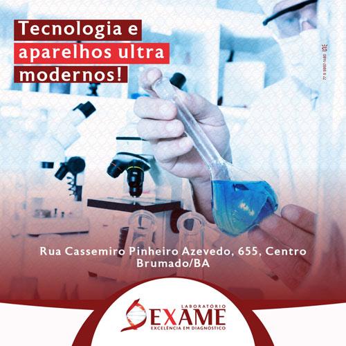 Brumado irá receber Laboratório Exame: Excelência em Diagnóstico