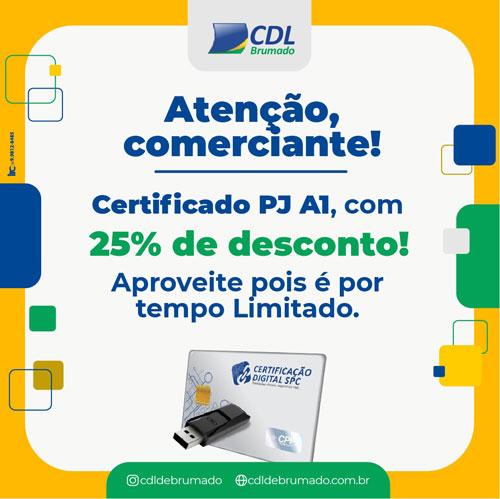 Aproveite a promoção especial no certificado digital da CDL de Brumado