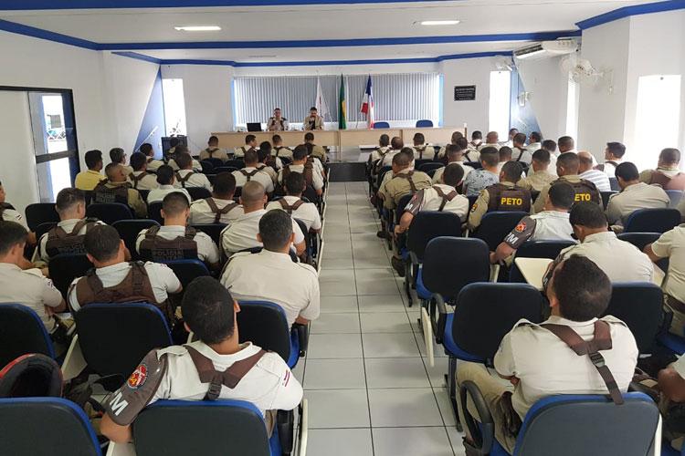 Brumado: 34ª CIPM realiza Parada Militar para debate de temas importantes às funções militares
